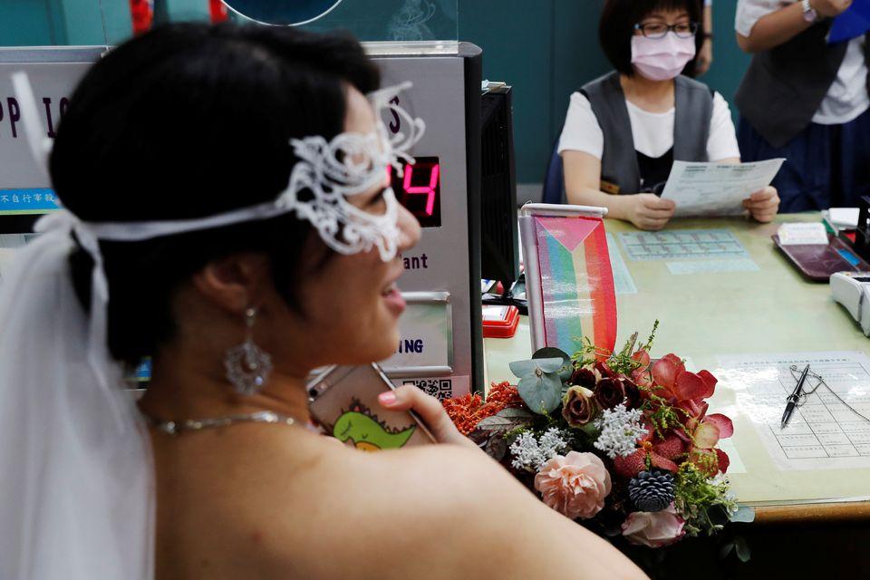Taiwan se tornou o primeiro país da Ásia a legalizar o casamento