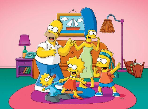 Homer, Marge, Maggie, Liza e Bart formam a família mais famosa da história da TV