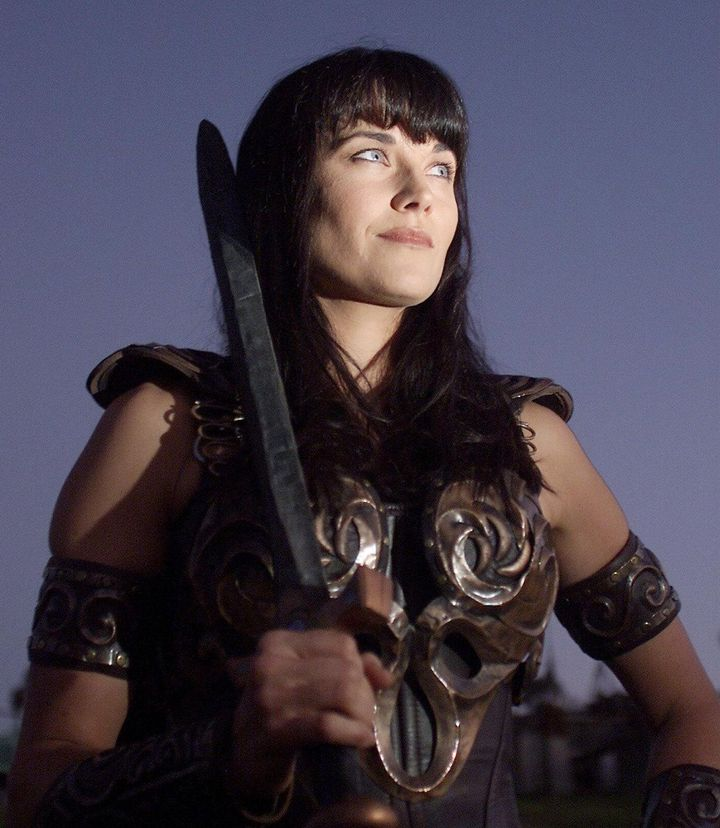 "Lucy Lawless starred in ""Xena: Warrior Princess"" from 1995 through 2001."