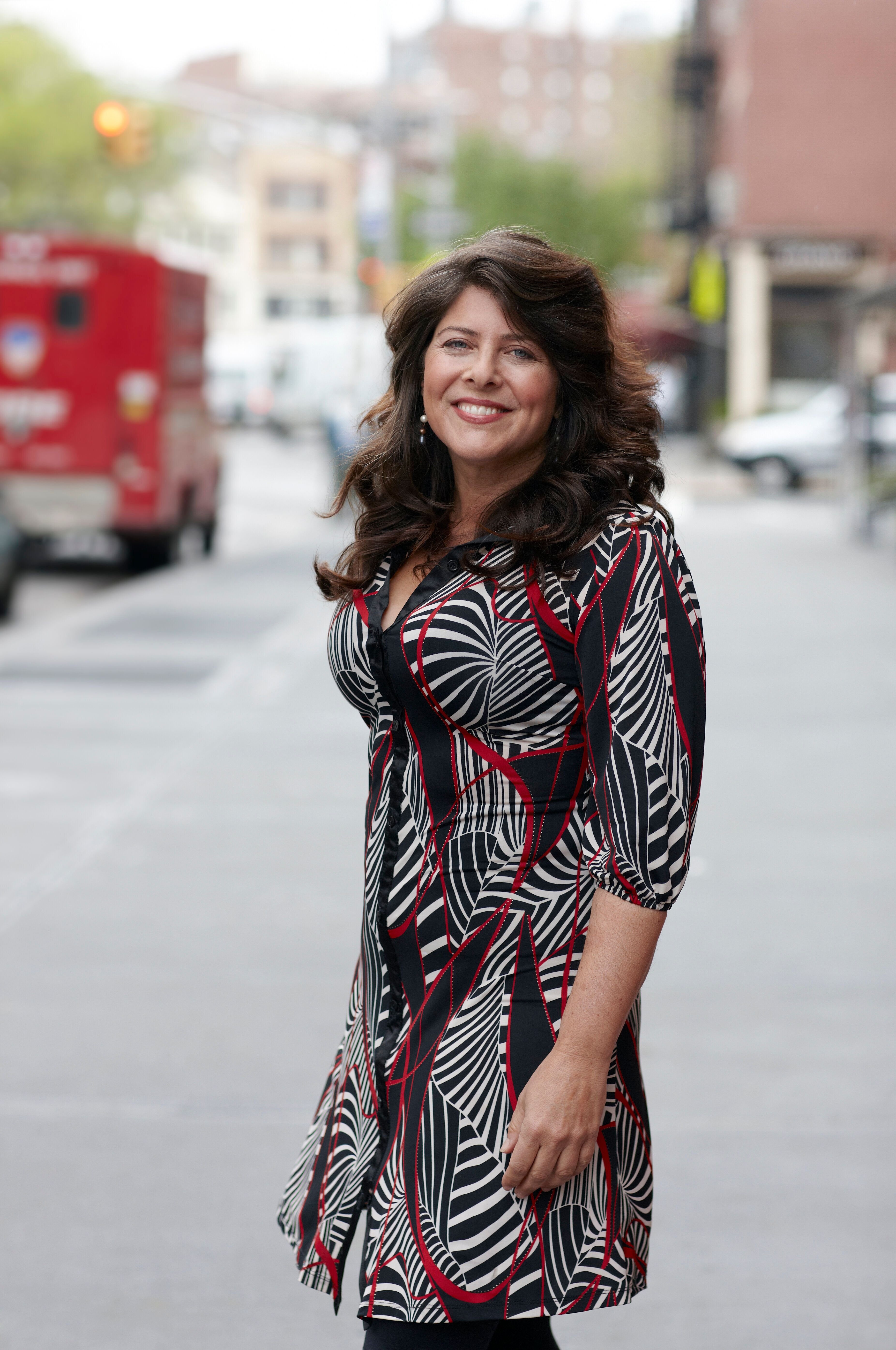 NEW YORK CITY, NEW YORK - MAY 2: Naomi Wolf poses for a portrait in New York City, NY on May 2, 2011. Wolf is an American author and former political consultant, who has been described as the third wave of the feminist movement. (Photo by Grant Delin For The Washington Post via Getty Images)