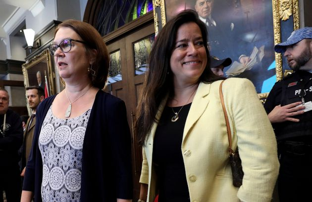 Jane Philpott and Jody Wilson-Raybould are making separate announcements at the same time in their respective...