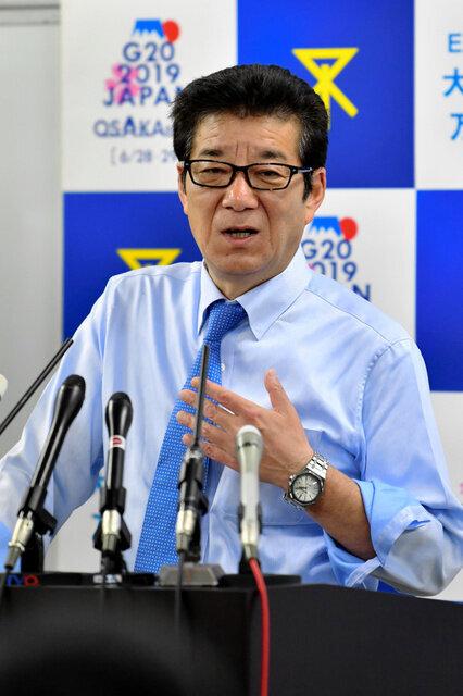 「2カ月の休養必要」の丸山穂高議員に維新・松井代表「出て来られないなら辞めて」
