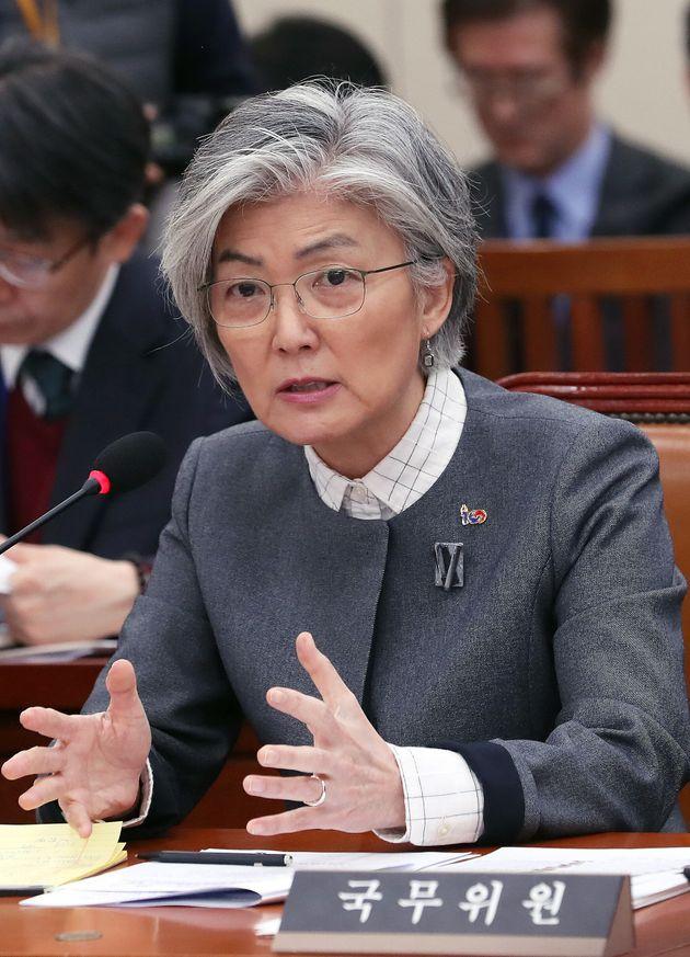 '간부급 외교관의 한미 정상 통화 유출' 사건에 대한 강경화 장관의