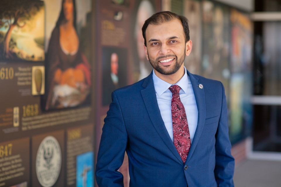 Qasim Rashid, a Virginia state Senate candidate, said the attacks don't deter him from running for office....