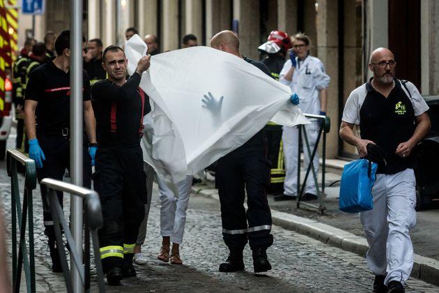 프랑스 리옹서 '소포 폭발물'이 터지면서 13명이
