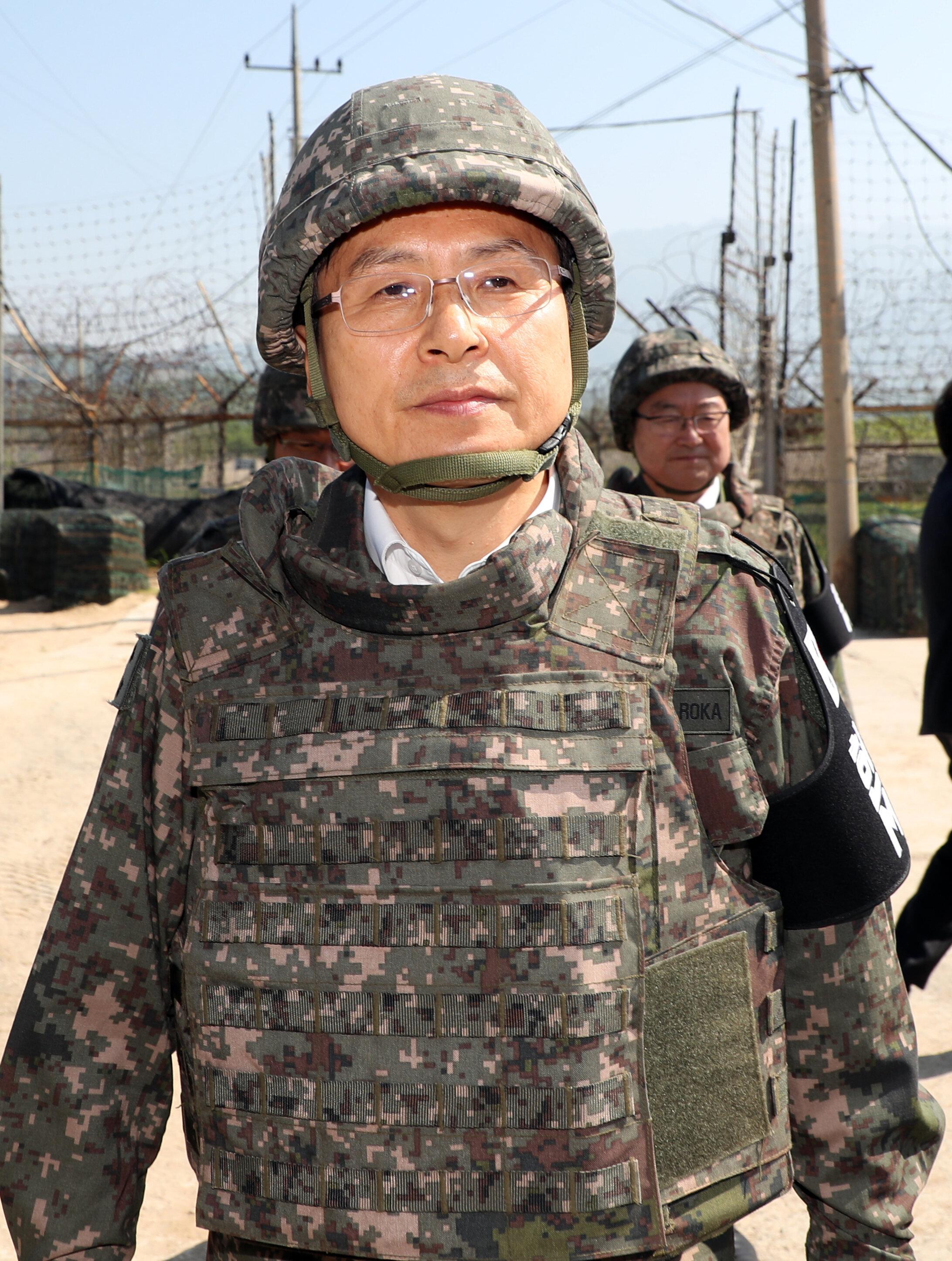 국방부가 황교안 '남북군사합의 폐기' 발언을