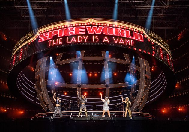 Spice Girls Tour Kicks Off In Ireland With 23 Songs, 24 Costume Changes And 75,000 Screaming Fans (Including...