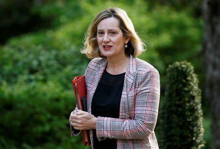 Amber Rudd has ruled herself