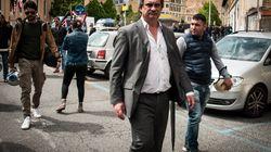 Il leader di Forza Nuova, Roberto Fiore, fermato dalla Digos a San