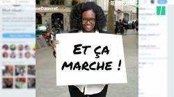 Ces pancartes de Sibeth Ndiaye valent le