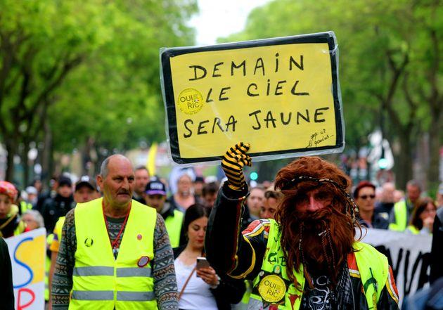 Gilets jaunes: 12.500 manifestants pour l'acte 28, plus faible