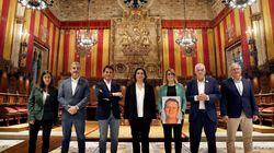 El mal rato de los candidatos a la alcaldía de Barcelona durante la jornada de