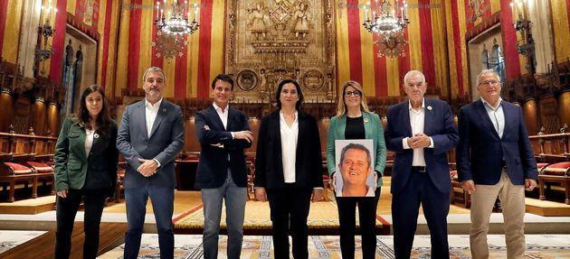 Los alcaldables de Barcelona posan para EFE en la jornada de