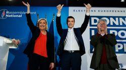 Victorieuse, Marine Le Pen réclame la dissolution de l'Assemblée