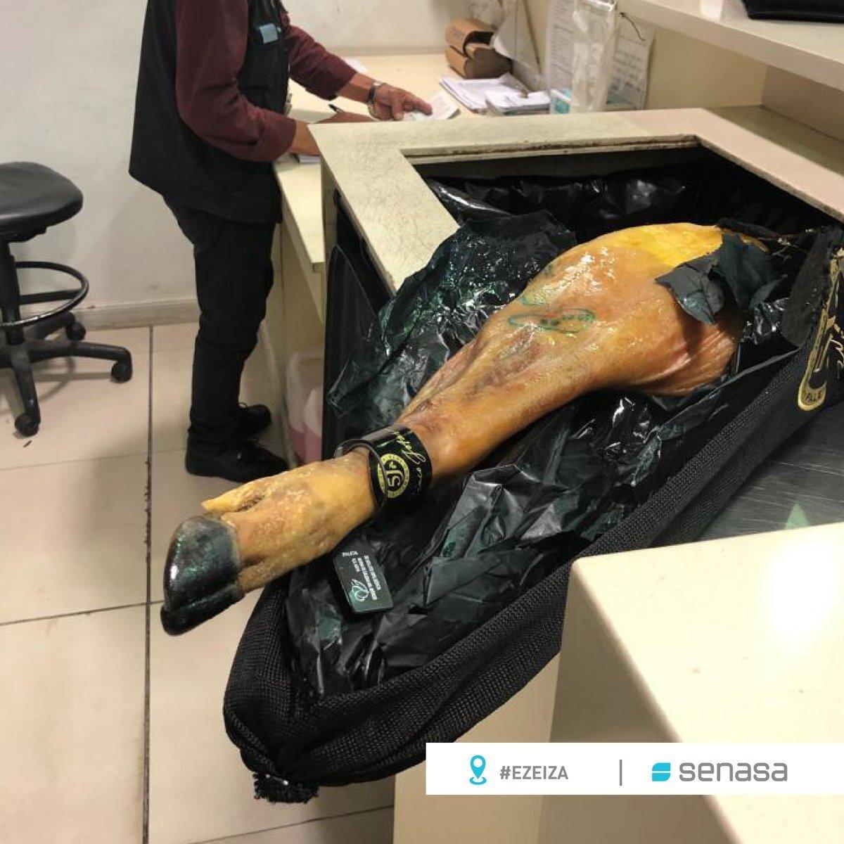 Cachondeo por lo que han hecho en una aduana de Argentina con este jamón 5