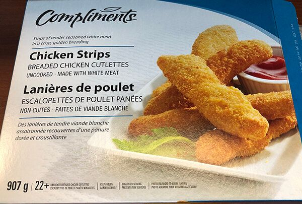 Compliments Chicken Strips Recalled Due To Salmonella