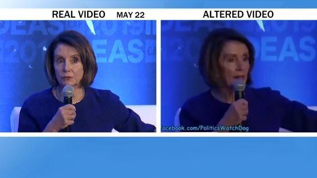 Facebook refuse de supprimer une fausse vidéo où la chef démocrate a l'air