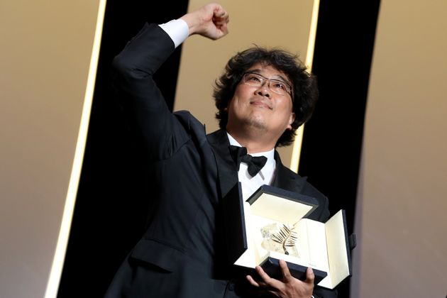 Le réalisateur Bong Joon-ho, Palme d'or de Cannes 2019 pour son film