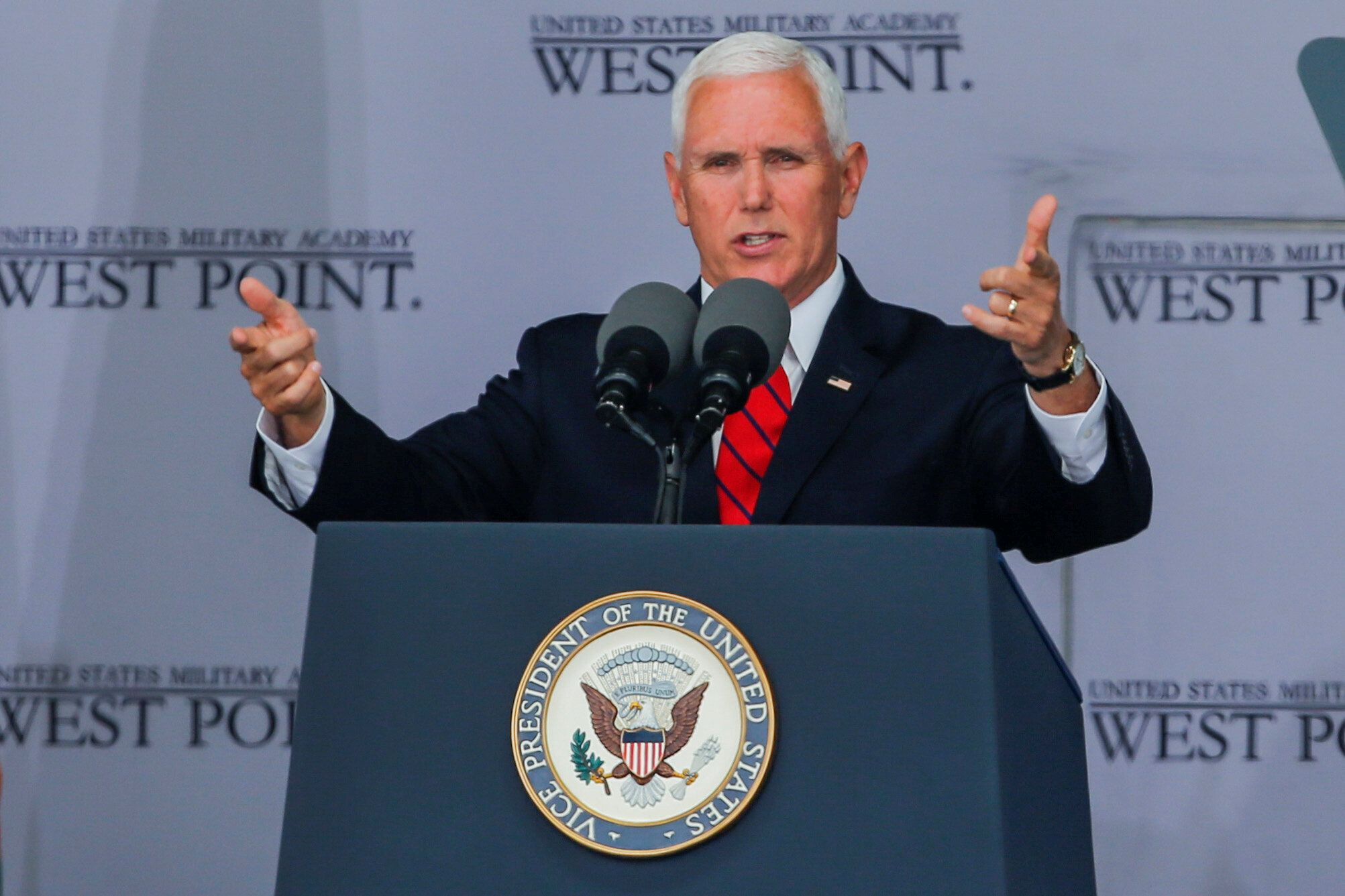 Mike Pence Tells West Point Graduates They Will Be In Combat It Will Happen