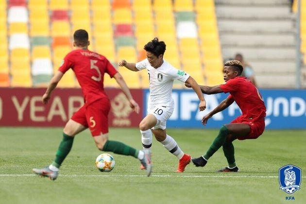 [U-20 월드컵] 한국이 조별리그 1차전에서 포르투갈에