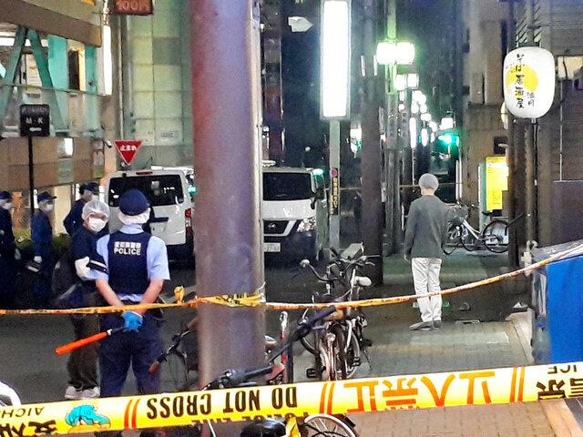 名古屋市の路上で男性が刃物で刺されて死亡。知人を殺人未遂容疑で逮捕