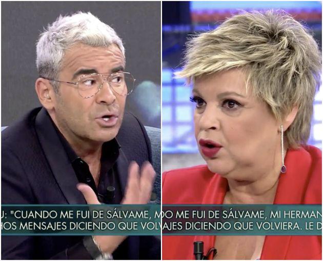 Jorge Javier Vázquez estalla contra Terelu Campos en 'Sábado Deluxe' por Carmen