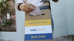 Exit Polls Ευρωεκλογών: Προβάδισμα νίκης για τη Νέα
