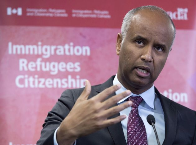 Le ministre de l'Immigration, Ahmed