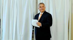 Victoire écrasante du parti souverainiste du Hongrois Orban aux