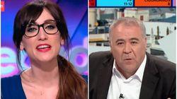 Ana Morgade reacciona al minuto a lo que se ha podido escuchar en 'Al Rojo Vivo' durante el