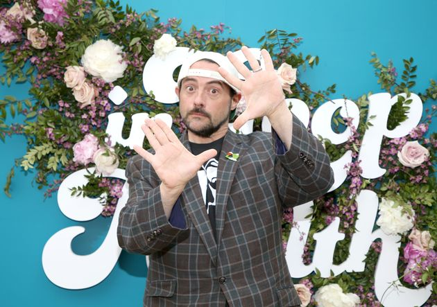 Director Kevin Smith at the In goop Health Summit in Los Angeles on May 18. He spoke openly about the...