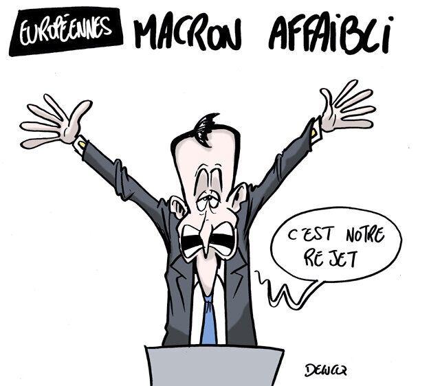 Résultats des élections européennes: ce que Macron va