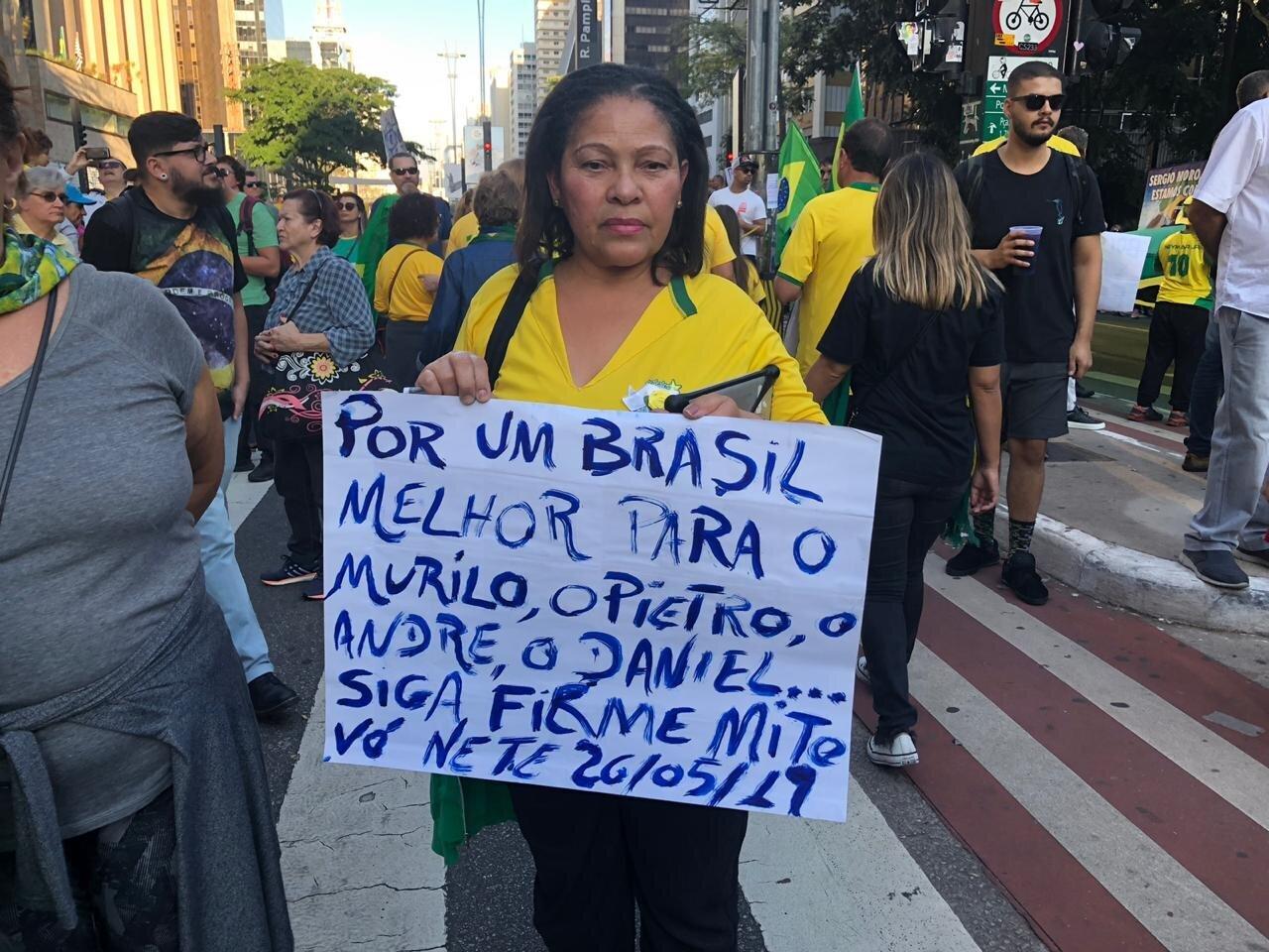 Vim porque vejo oportunidade única de mudar o Brasil, diz