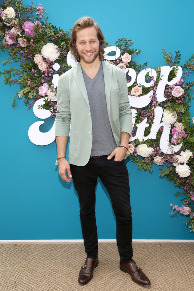 Model-turned-CEO Giorgos Tsetis at the In Goop Health Summit in Los Angeles on May 18. Tsetis runs Nutrafol,...