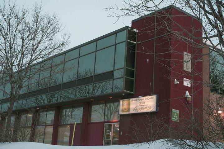 The Centre culturel islamique de Québec, where the alleged assault took place.
