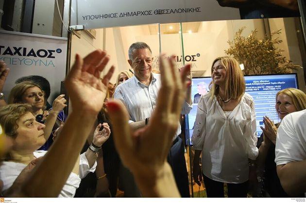 Θεσσαλονίκη-Εκλογές: Σημαντικό προβάδισμα Ταχιάου ενόψει του δεύτερου