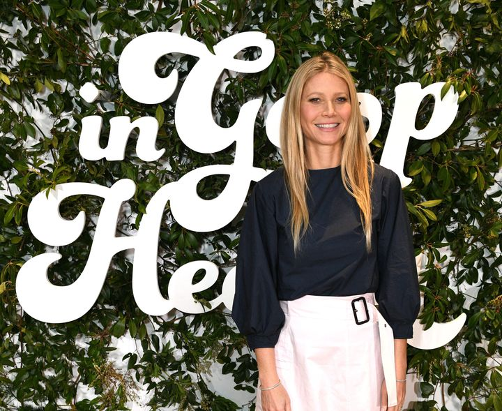 Gwyneth Paltrow at the In Goop Health Summit in New York on March 9.
