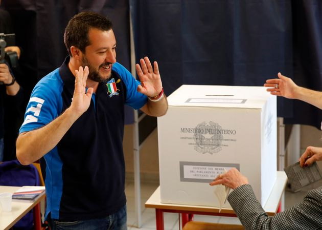 Ιταλία-Ευρωεκλογές: Θρίαμβος για Σαλβίνι, καταρρέει το