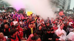 No Arrests Made After Raptors Fans' Historic Street