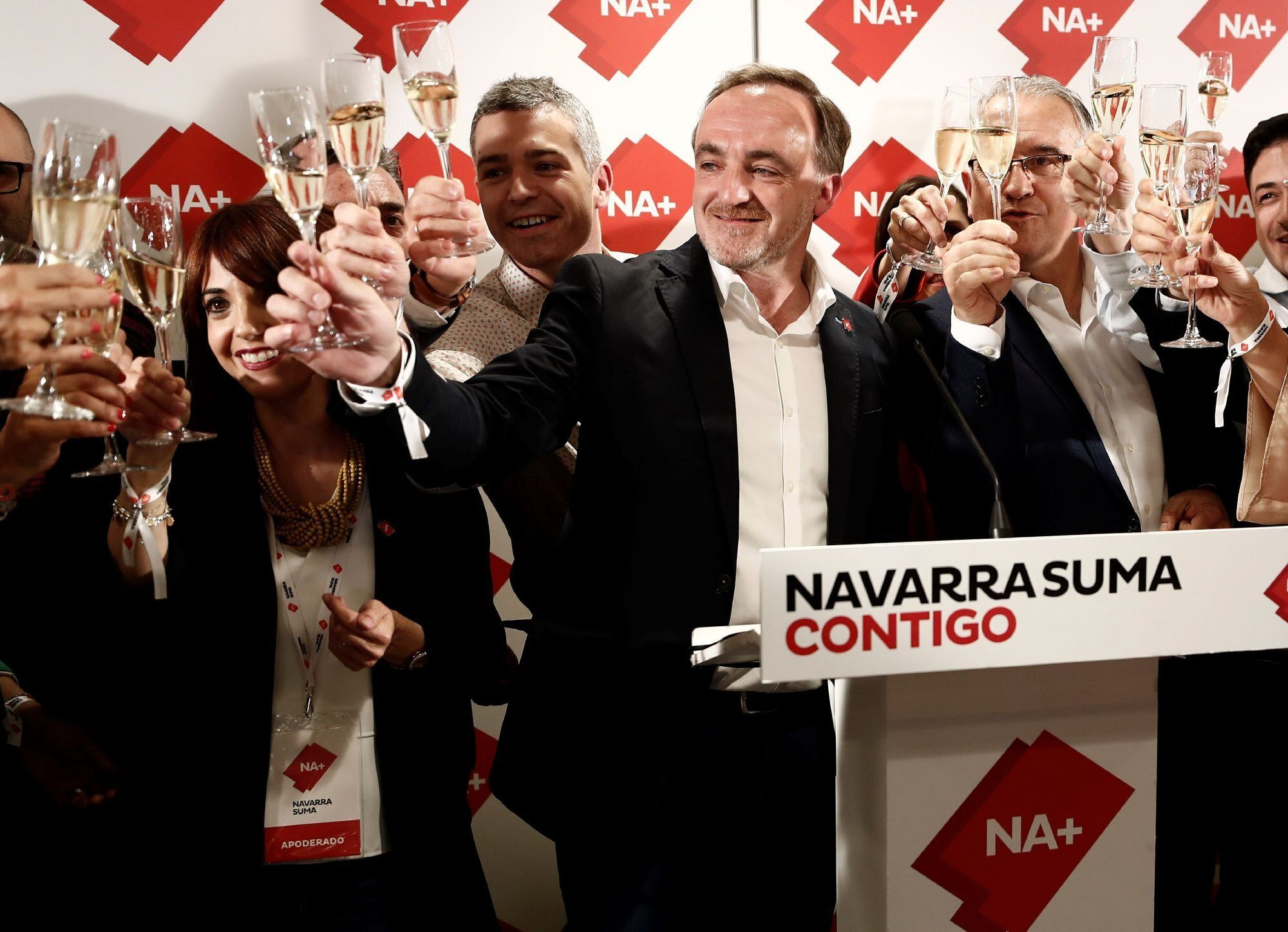 El cuatripartito no reeditará su gobierno; victoria insuficiente de Navarra