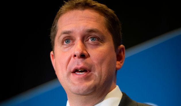 Andrew Scheer, leader of the Conservative Party of Canada, at the Montreal Council on Foreign Relations...