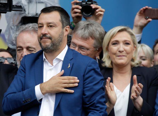 Salvini, Le Pen, Farage: gli euroscettici sfondano dove hanno il leader