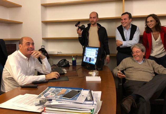 Ossigeno al Nazareno |  il Pd è tornato in campo  Superato il M5S |  Salvini ora è l'unico