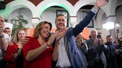 Los números sostienen al PSOE andaluz con la sombra de los pactos de las