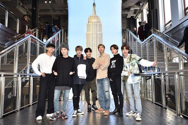 미국의 방탄소년단 팬들이 '강호동 백정' 뉴욕지점에 악평을 퍼붓고