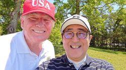 ゴルフ中の自撮り写真、異例の大相撲観戦で親密さアピール トランプ氏来日、海外メディアはどう報じた?