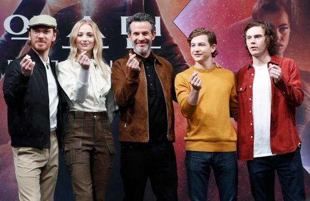 '엑스맨: 다크 피닉스' 배우들이 한국을
