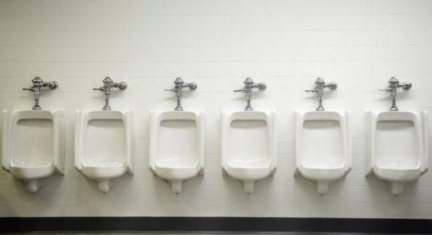 男子用トイレの小便器のイメージ画像