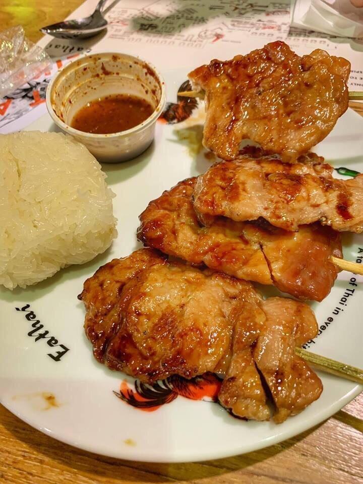 ▲讓吳速玲大讚的烤肉飯,到現在依舊難以忘懷。