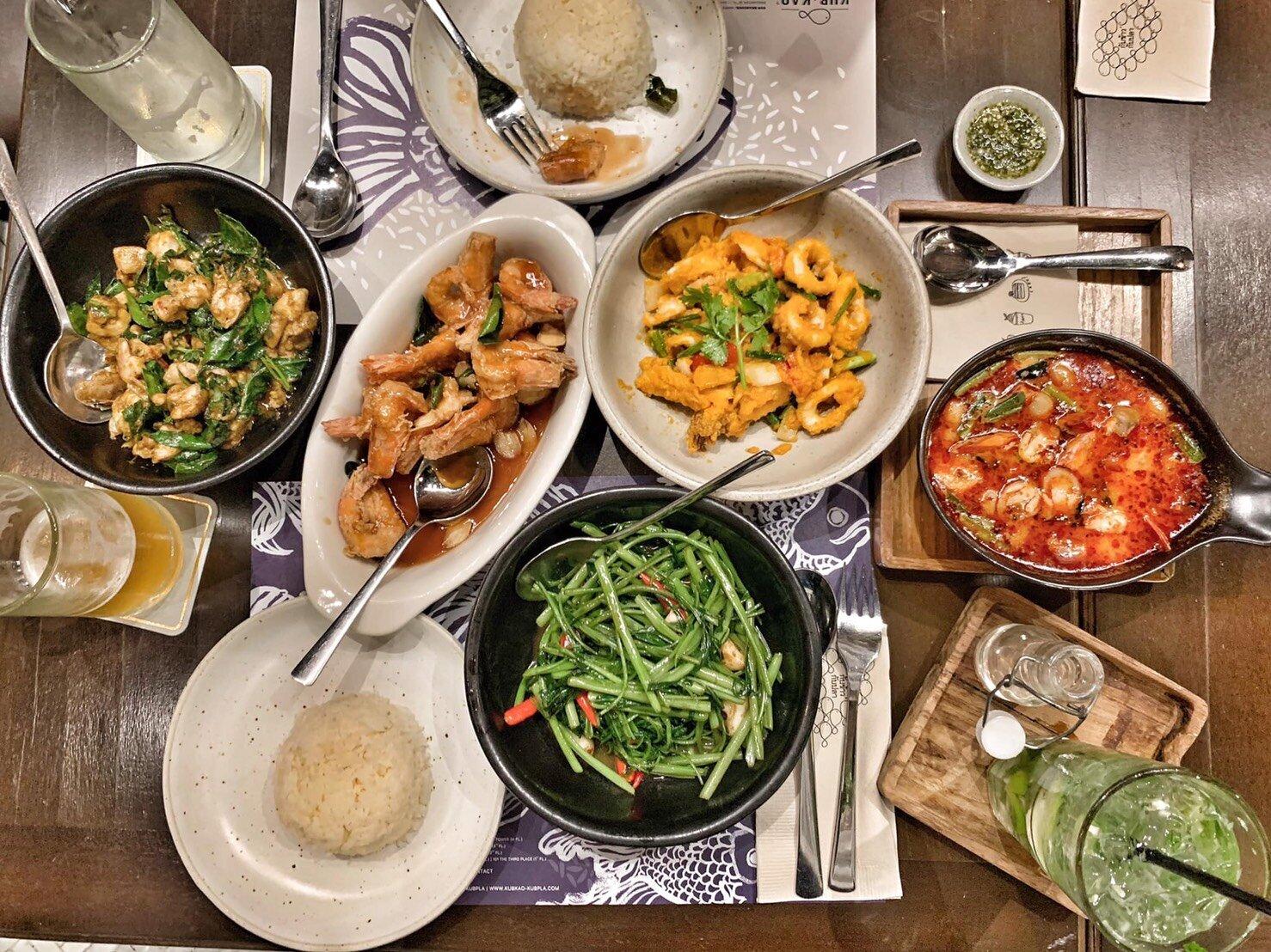 ▲吳速玲相當推薦泰北菜,燈光美、氣氛佳,東西又好吃。